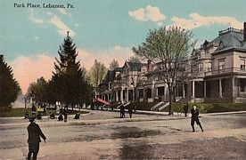 Downtown Lebanon Postcard