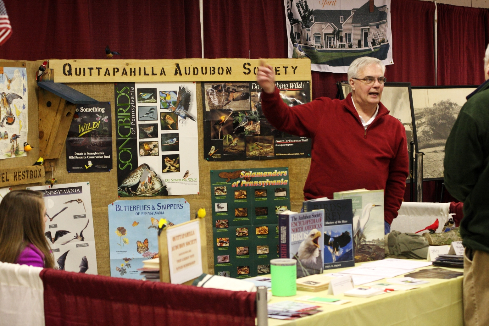 Quittapahilla Audubon Society Booth